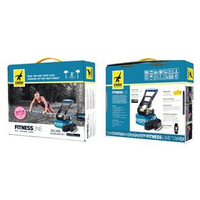 GIBBON Fitness Line - Slackline - 15 m bleu